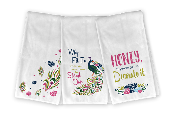 Peacock Kitchen Towel Set - Save 23%