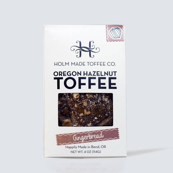 Holm Made Toffee Co./ Gingerbread - Lot22oliveoilco.com