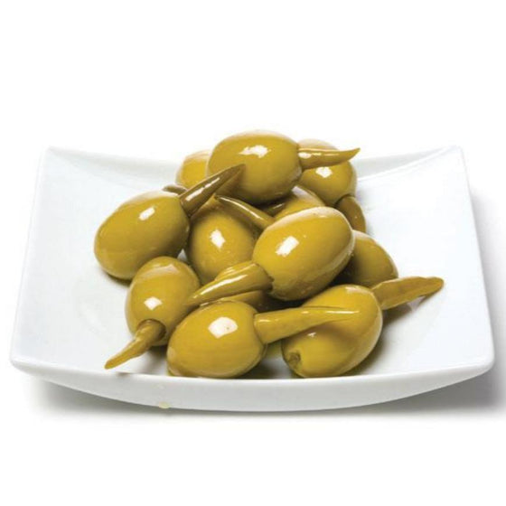 Olives w/ green chili