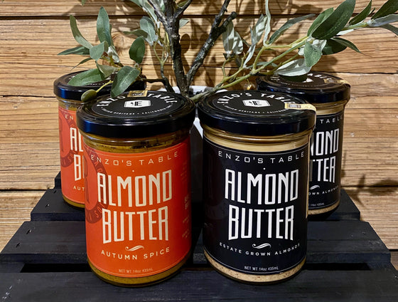 Almond Butter from Enzo's Table