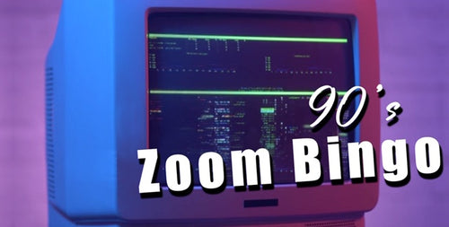 ZOOM Edition - 90's Game Pack - 15 Players