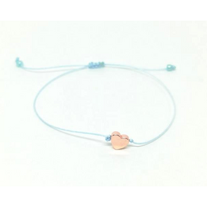 Armband Set Lichtblau Rose