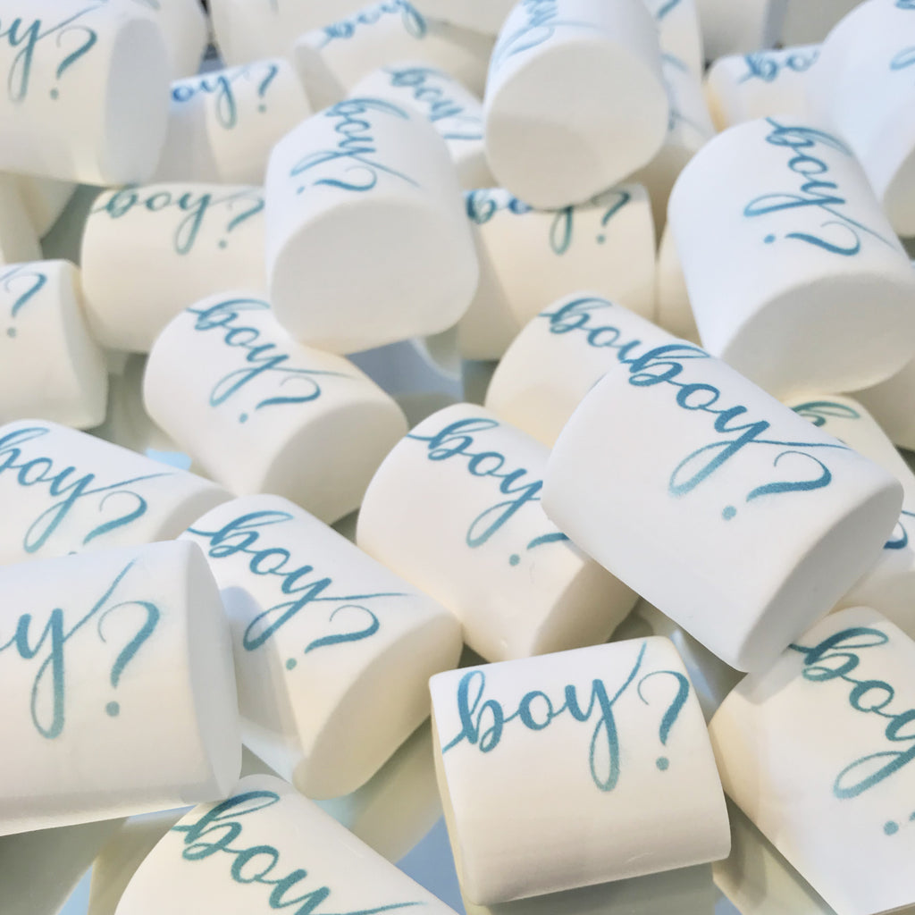 20 Marshmallows Gender Reveal