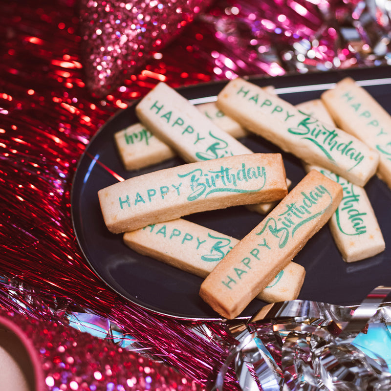40 Biscotti Stick Birthday