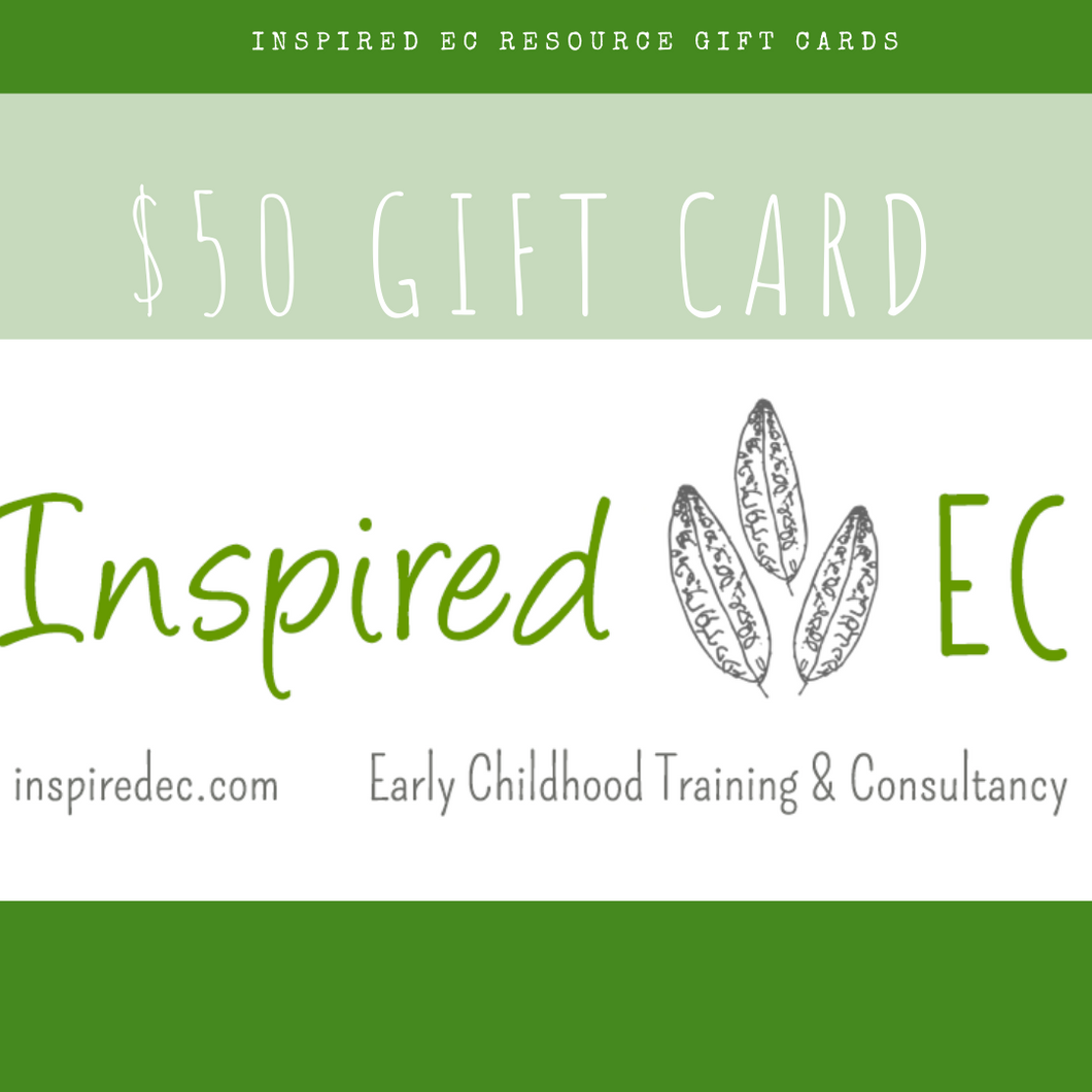 Inspired Natural Play Store - Gift Card