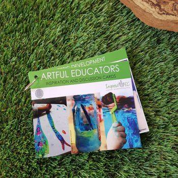 Artful Educators Inspiration and Discussion Cards (Set A)