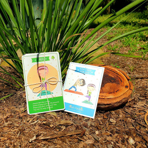 Yoga Cards for kids - Inspired Natural Play Store