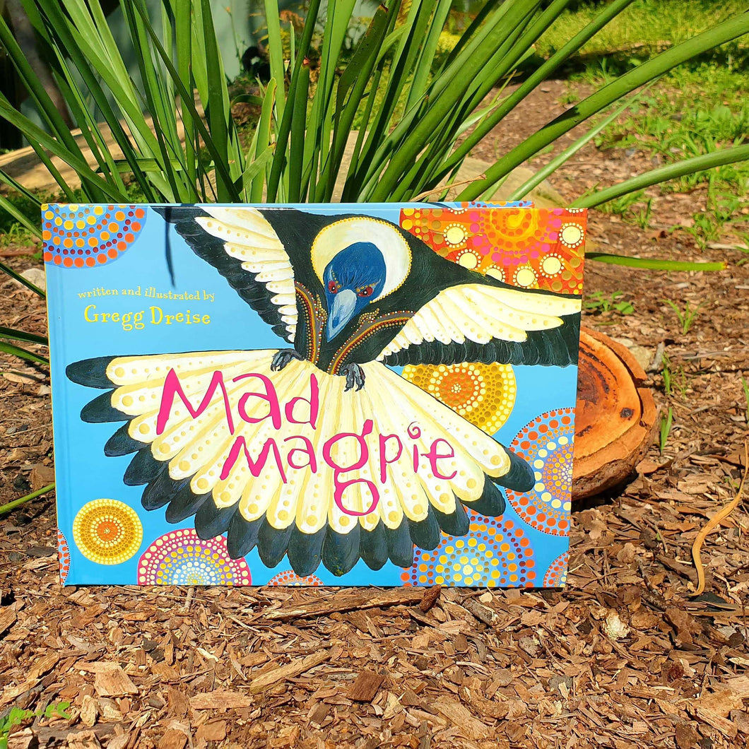 Mad Magpie by Gregg Dreise - Inspired Natural Play Store