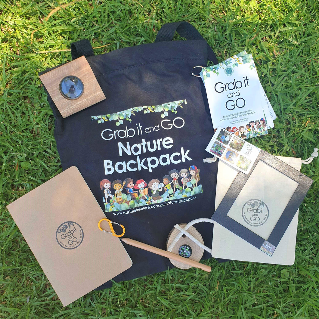Grab it and Go Nature Backpack (Pre-order)