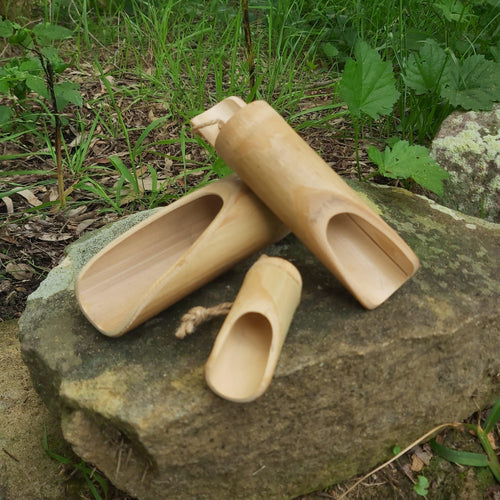 Bamboo Scoop Set (3) - Inspired Natural Play Store