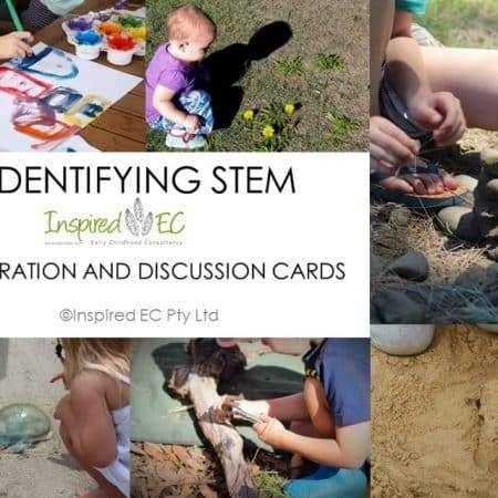 Identifying STEM: Inspiration and Discussion Cards - Inspired Natural Play Store