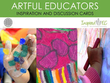 Load image into Gallery viewer, Artful Educators Inspiration and Discussion Cards (Set B) - Inspired Natural Play Store