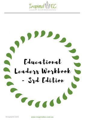 Educational Leaders Workbook - 3rd Edition - Inspired Natural Play Store