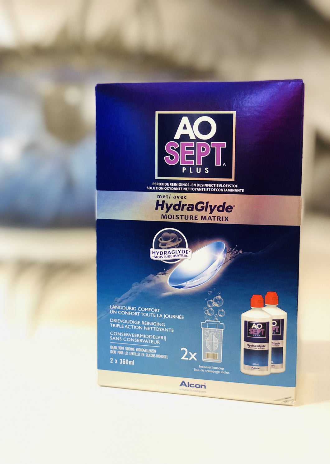 AOSEPT® PLUS mit HydraGlyde® 2x 360ml