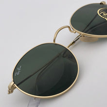 Laden Sie das Bild in den Galerie-Viewer, Ray Ban Mod. Round Metal 3447 Gold G15
