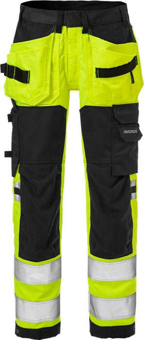 FRISTADS High vis werkbroek stretch dames klasse 2 2613 PLUS