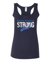 Nova Scotia Strong Ladies' Racerback Tank Top