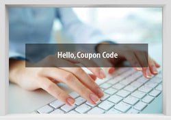 Hello, Coupon Code