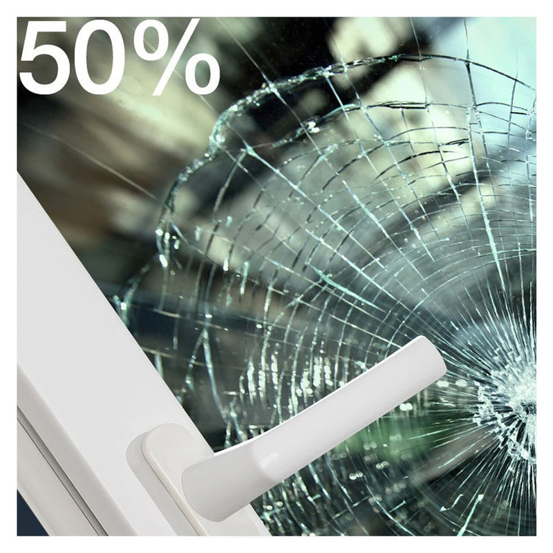 BDF S4MGR50 Window Film Security and Safety 4 Mil - Green 50