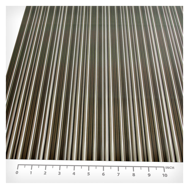 BDF 4BKSTR Decorative Window Film Black Stripe