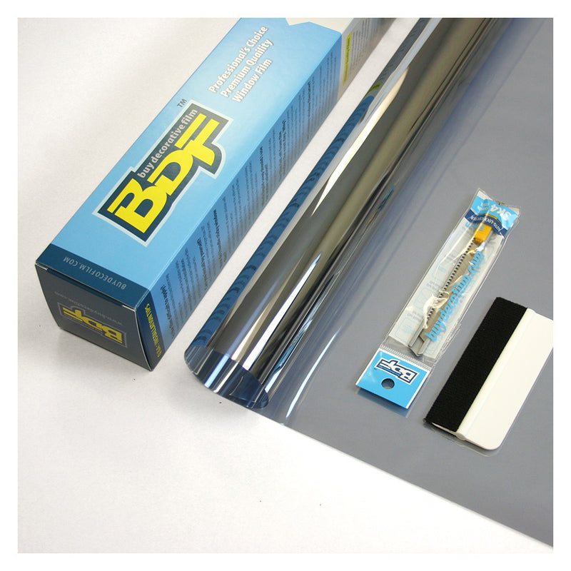 BDF EXS35 EXTERIOR Window Film High Heat Rejection Silver 35 (Medium)