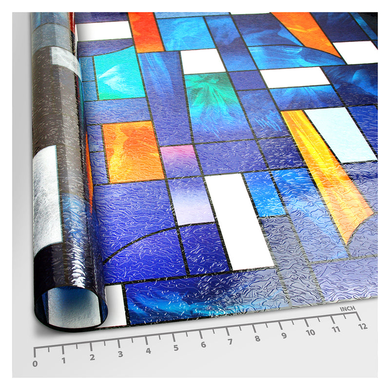 BDF 3ABST Window Film 3ABSTract Stained Glass