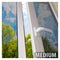 BDF S35 Window Film High Heat Rejection Reflective Silver 35 (Medium)