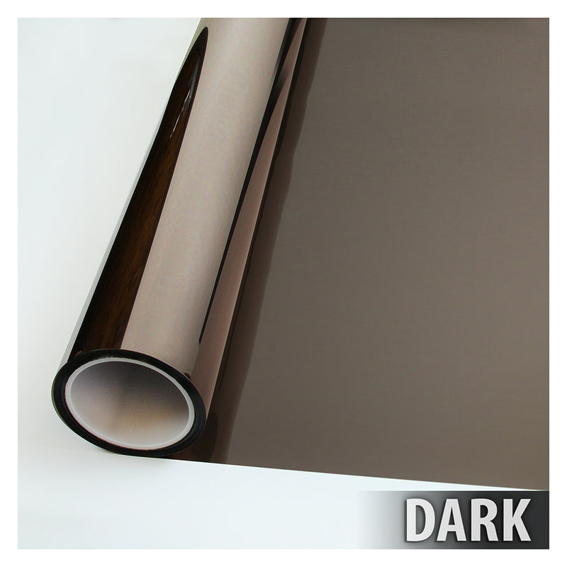 BDF BRZ20 Window Film Bronze Reflective Sun Control and Privacy (Dark)