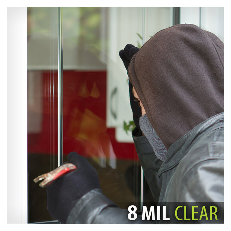 BDF S8MC Window Film Security and Safety Clear 8 Mil