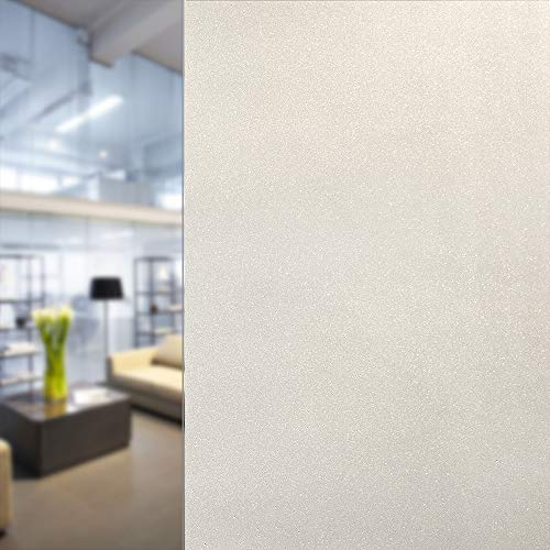 BDF 1SPWH Decorative Window Film Sparkling Frost White Privacy Static Cling
