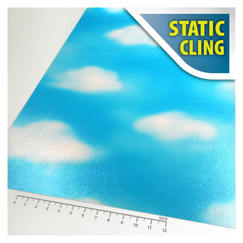 BDF 1CLD Window Film Cloud Non-Adhesive Static Cling