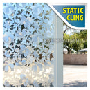 BDF 1PFLO Window Film Frosted Privacy Flower Static Cling Non-Adhesive (Opaque)