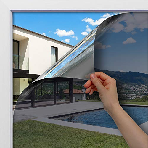 BDF Static Cling Non-Adhesive One Way Heat Rejection Daytime Privacy Window Film