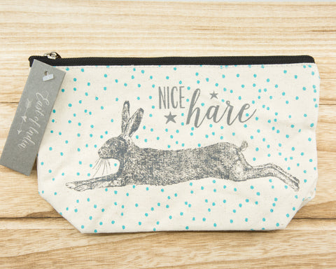 Nice hare - Canvas Cosmetic Bag