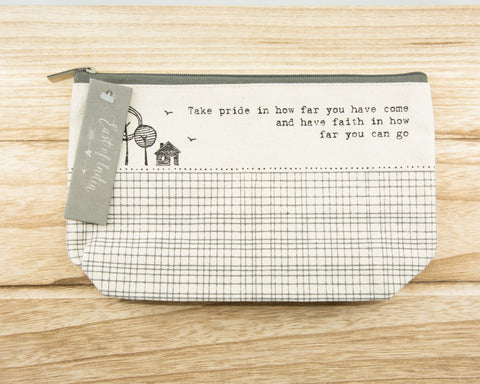 Take pride... - Canvas Cosmetic Bag