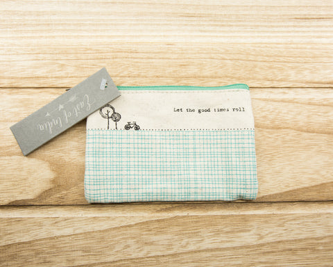Let the good times roll - Canvas Purse