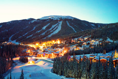 Winter Dusk - Sun Peaks Photographic Print
