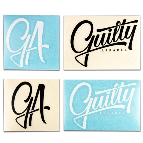 GA Sticker Pack (1 with every purchase)