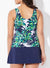 LULAV CLASSIC TANKINI WITH NAVY SKIRT