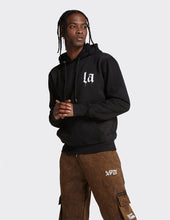 Load image into Gallery viewer, Black OTH 'LA' print Hoodie