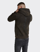 Load image into Gallery viewer, Acid Wash  Limited Edition OTH 'LDN ATD' Print Hoodie