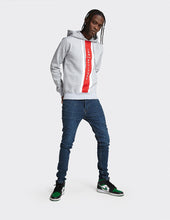 Load image into Gallery viewer, Grey OTH 'LDN ATTITUDE' print Cut & Sew hoodie