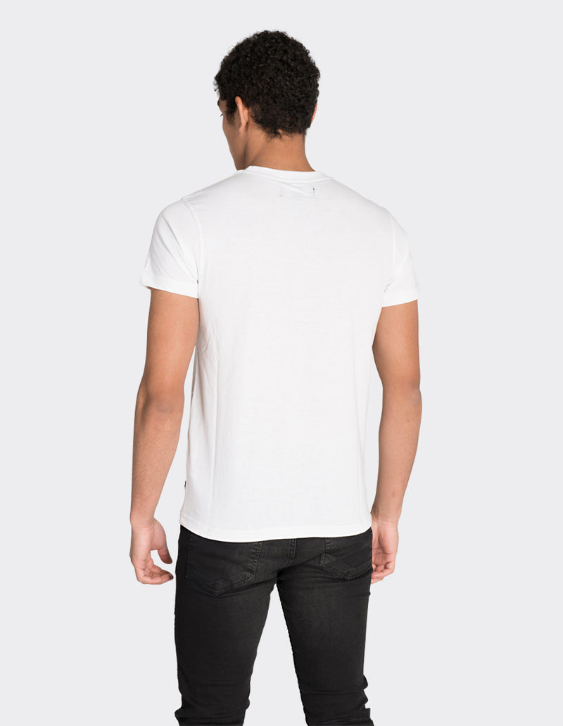 White game changer print t-shirt