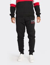Load image into Gallery viewer, Black 'LDN' printed joggers