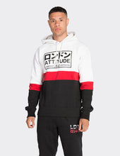 Load image into Gallery viewer, Red stripe print OTH hoodie