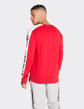Load image into Gallery viewer, Red 'Limits' printed Sweatshirt