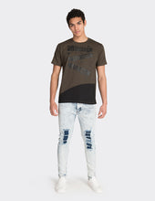 Load image into Gallery viewer, Khaki tape print t-shirt