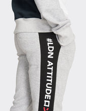 Load image into Gallery viewer, Grey marl 'LDN' joggers