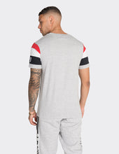 Load image into Gallery viewer, Grey front print life t-shirt