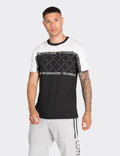Load image into Gallery viewer, White chevron printed t-shirt